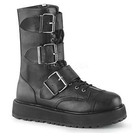 Valor Gothic Buckle Boot