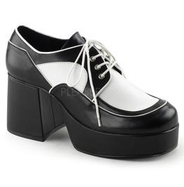 """3 1/2"""" Block Heel, 1 1/2"""" Pf Men's Spectator Oxford Shoe"""