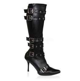 "3 3/4"" Heel,Sexy High Heel Pirate Costume Boot"