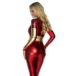 Dark Forest Super Hero Avengers Jumpsuits Cosplay Halloween Womens Set