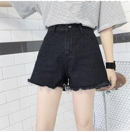 Dark Forest Jean Denim Harajuku Tassel Womens Shorts