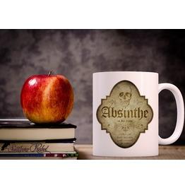 Absinthe, Potion Mug, Gothic 10oz Mug, Halloween Mug, Witches Brew Mug