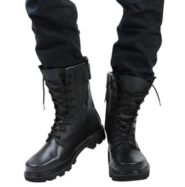 6858e65963f Split Leather Classic Martin Combat Boots Tactical Military Shoes