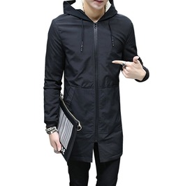 Hooded Slim Long Coat Winter Jacket
