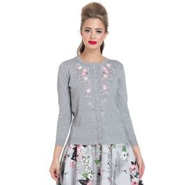 Bethany Floral Embroidered Cardigan