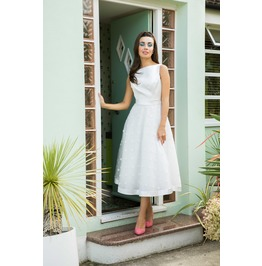 Meagan Polka Dot Bridal Gown