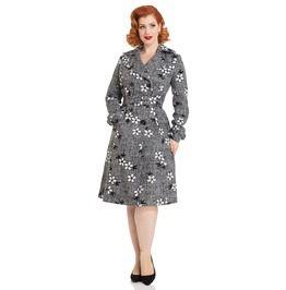 Marjorie Grey Floral Jacket