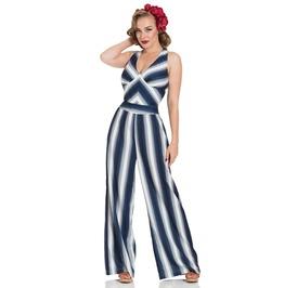 Grace Nautical Striped Jumpsuit