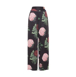 Natalia Large Vintage Floral Print Pants