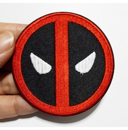 Deadpool Super Hero Embroidered Iron On Patch.