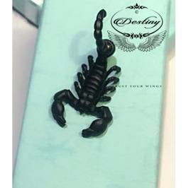 Scorpion Puncture Stud Earrings For Punk Rock.