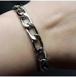 Steampunk Bdsm Jewelry Mens Chain Bracelet Submissive Dominant Brutal Metal