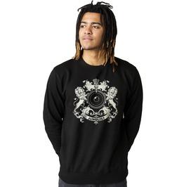 Junglist Coat Of Arms Sweatshirt Jungle Massive Crest Drum And Bass Dj Mens
