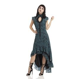 Chiffon Ouija Hi Low Victoriana Dress