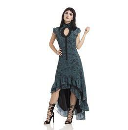 Chiffon Ouija Hi Low Victoriana Dress