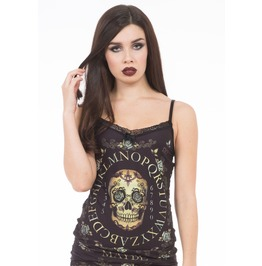 Sale Day Of The Dead Ouija Cami Top