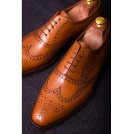 Handmade Men Wingtip Brogue Formal Shoes, Men Dress Shoes, Men Leather Shoe