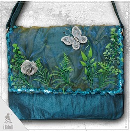 """Magic Forest "" Fantasy Style Shoulder Bag With Forest Elements"