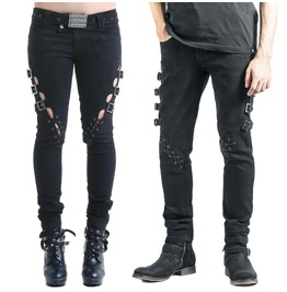 Hollowed Unisex Pants