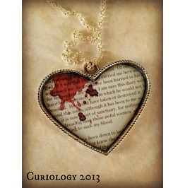 Harkers Journal Dracula Necklace Curiology