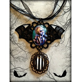 Beetlejuice Cameo Necklace Curiology