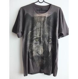 Wolf Tiger Animal Wave Punk Pop Rock Indie T Shirt M