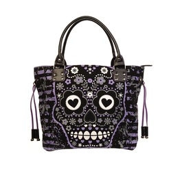 Sugar Skull Tote Bag Banned