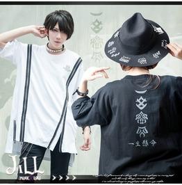 Street Punk Harajuku Samurai Fighting Soul Heat Transfer Decal Tee Jag0080