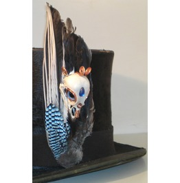Jay Bird Skull On Jaywing