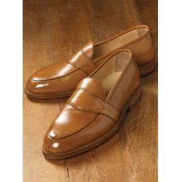 Men Leather Shoes Moccasins Slip Ons, Designer Brown Formal Shoes