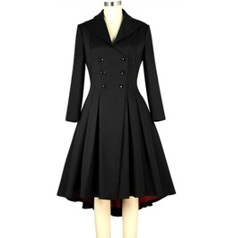 Vintage Long Sleeve Gothic Lolita Coat