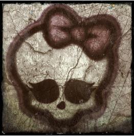 Girly Skull Print 8x10