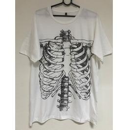 Skull Body Gothic Punk Rock Indie Pop Fashion Unisex T Shirt Xl