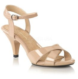 "3"" Heel, 1/8"" Pf Criss Cross Ankle Strap Sandal"