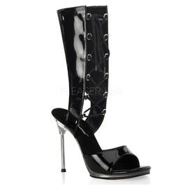 """4 1/2"""" Heel, 1/4"""" Pf Mid Calf Lace Up Bootie Sandal"""