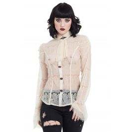 1cef4ae865d44 Steampunk Long Sleeve Lace Top