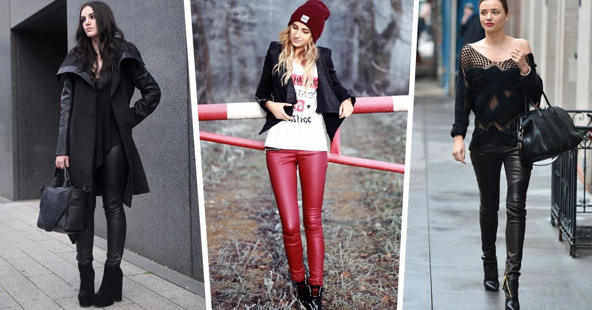 How to Style Leather Leggings like a Pro