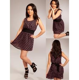 Three Dress Black Pink Vixxsin