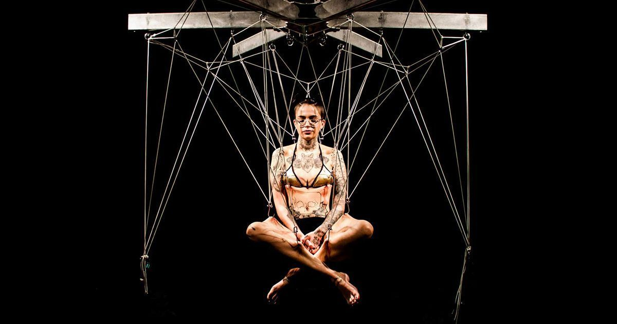 The Art of Suspension: Is Hanging from Hooks Through the Skin Becoming Mainstream?
