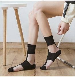 Dark Forest Harajuku Checkered Elastic Womens Socks Accessories