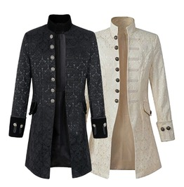 Rebelsmarket bessarion mens brocade jacket coats 8