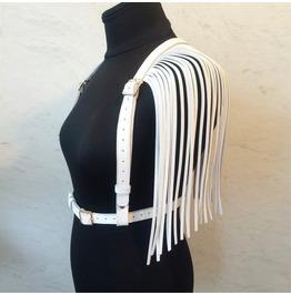 Darkforest Strap Belt Side And Back Tassel Waist Harness Womens Accessories