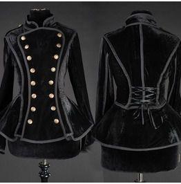 Neo victorian military jacket jackets