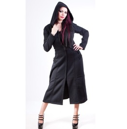 Necessary Evil Alcis Coat Corset Back