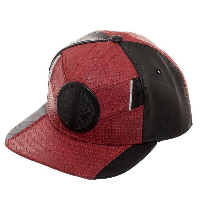 ce7add865 Deadpool Red And Black Uniform Flatbill, Marvel Comics Mercenary Suit Up  Snapback | Mxed