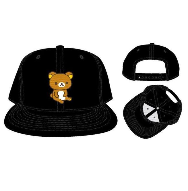 bb7cfffb5 Embroidered Rilakkuma Black Snapback Dad Hat / Baseball Cap / Baseball Hat  | Mxed