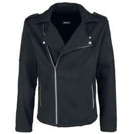 Mens Jersey Biker Style Jacket