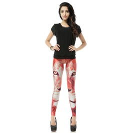 Tiger Print Fashion Leggings Pants