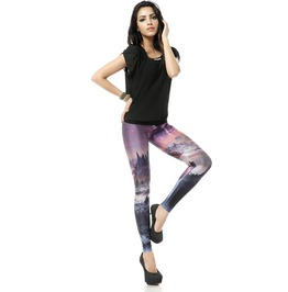 Fantasy Galaxy Style Fashion Leggings Pants