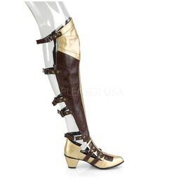 Maiden Wonder Warrior Woman Costume Boots